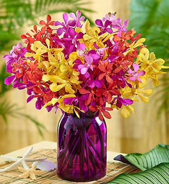 Tropical Mokara Orchid Bouquet