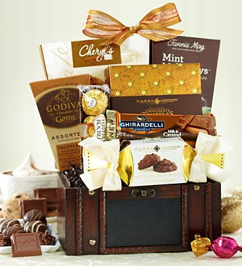 Premier Chocolate Treasures Gift Trunk