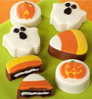 Trick or Treat Decorated Halloween Oreos