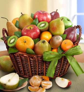 Fresh Fruit Baskets from 1800baskets.com