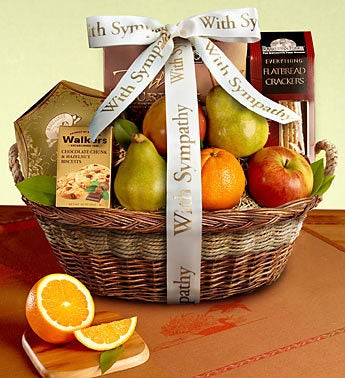 In Loving Memory Fresh Fruit Sympathy Box