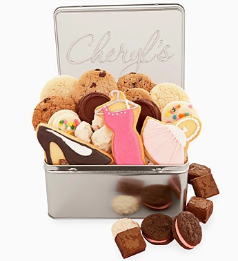Cheryl?s Fashion Mom Cookie Gift Tin