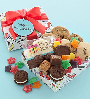 Cheryl's Birthday Party Cookies & Treats Gift Box