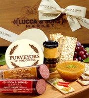 Lucca & Sons Sausage & Cheese Gift Box