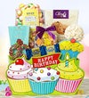 Let?s Celebrate Cupcake Birthday Gift Basket