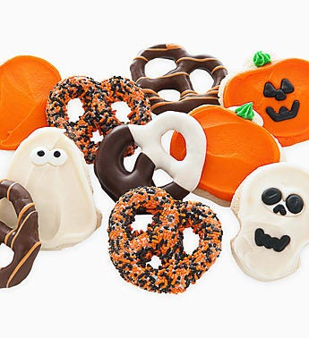 Cheryl's Halloween Cookie & Pretzel Box