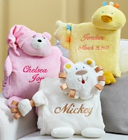 Cozy Buddy Blanket Personalized Gift