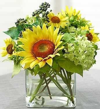 Silk Sunflower Medley