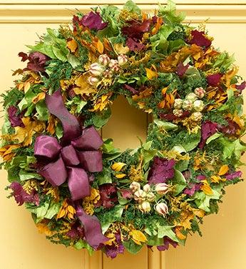 """Provence Garden Wreath - 18"""""""