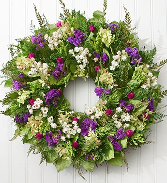 Garden Jewel Preserved Wreath