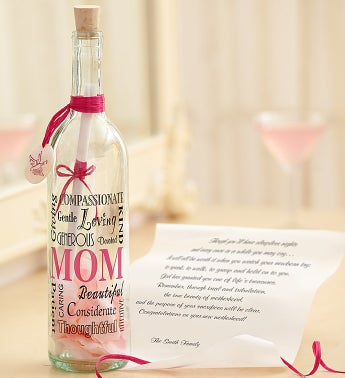 Message in a Bottle� for New Mom