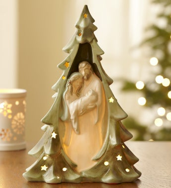 Holy Family Light Up Tree