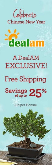 Save up to 25% - A DealAM Exclusive