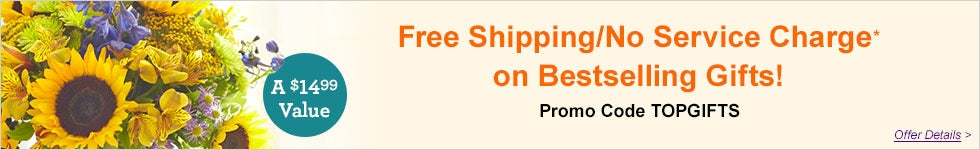 Free Shipping/No Service Charge*!